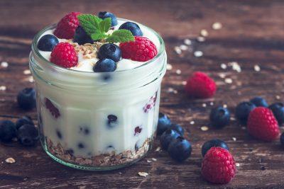 house-made yogurt and granola
